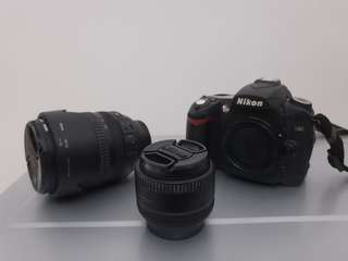 d90 nikon used Full set