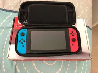nintendo switch with gamr