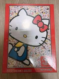 🚚 日本帶回 hellokitty拼圖 300片 全新
