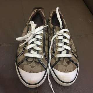 Preloved Authentic Coach Sneaker Shoes