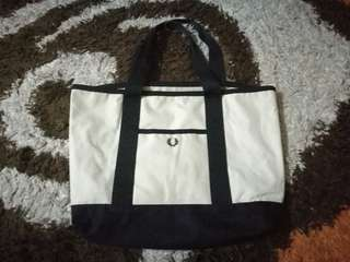 Fred perry uk flag tote bag