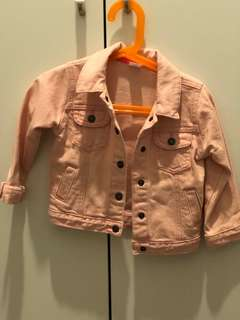 Carter's Girl Pink Jeans Jacket