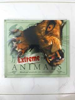 Extreme Animals: Weird and Wonderful, Fast & Ferocious by Steve Parker, Carlton Books (Interactive), 32 pages, Hardcover (Wildlife Animal Science Non-Fiction Reference)
