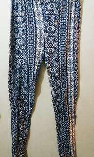 F21 Bohemian Aztec  Leggings