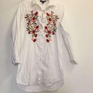 PRIMARK Embroidered Shirt