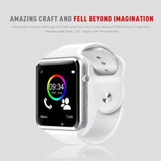A1 WristWatch Bluetooth Smart Watch Sport Pedometer With SIM Camera Smartwatch For Android Smartphone Russia T15