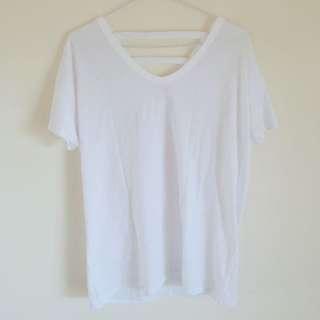 🚚 Lulu's 圓領後3條T恤#女裝半價拉