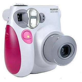 Instam camera 7 (pink)