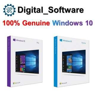 Microsoft Windows 10 Home/Pro