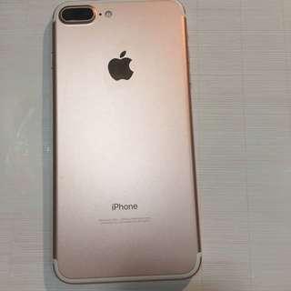全網最平 iPhone 7 Plus 32g 玫瑰金 rose gold good condition