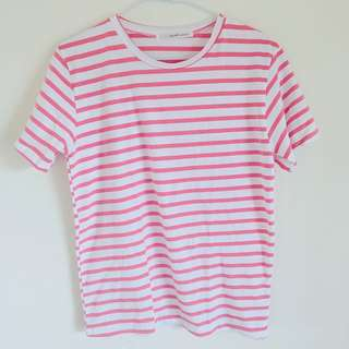 🚚 Lulu's 橫紋圓領T恤#女裝半價拉