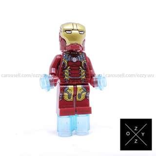 Lego Compatible Marvel Superheroes Minifigures : Iron Man MK43