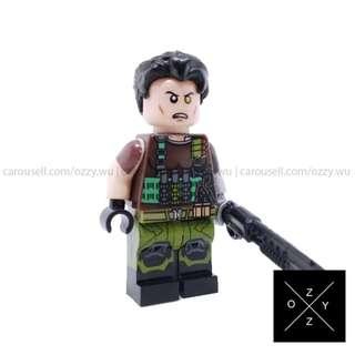 Lego Compatible Marvel Superheroes Minifigures : Cable