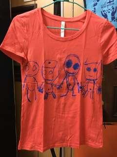 🚚 ✨A la sha 上衣✨橘色 S號(只穿過一次)