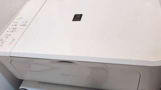 限時優惠 鋼琴面白色 Canon Printer PIXMA MG3570 $300