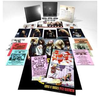 arthcd GUNS N' ROSES Appetite For Destruction 30th Anniversary 4CD/1Blu-Ray Audio Super Deluxe Edition Box Set + 96-Page Hardcover Book With Photos & Memorabilia