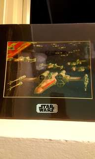 Star Wars collector poster