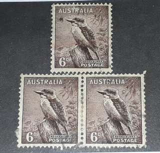 Australia old stamps mint