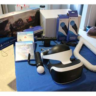 SONY PlayStation VR for Sale! (rarely used; in excellent condition). Purchase date: Jun-17.