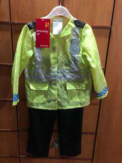 UK police costume for 3-5yrs
