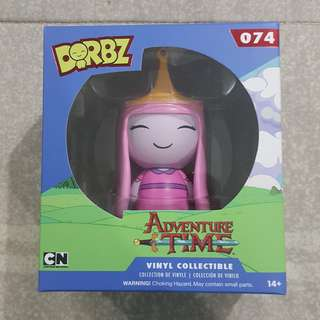Legit Brand New With Box Funko Dorbz Adventure Time Princess Bubblegum Toy Figure