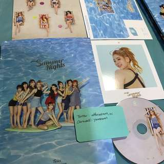 Twice Summer Nights DTNA Official Album Dahyun Set