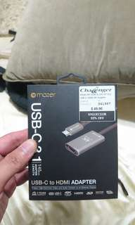 Maker usb c  to hdmi adapter