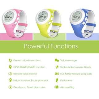 Ameter,一米,G2,追蹤兒童手錶  (防水,防敏感,GPS,全球定位系统,定位,追蹤,通話,智能手錶)