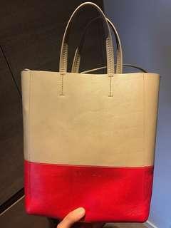 Celine Two Tone Tote Bag