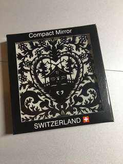Compact Mirror from Switzerland - free post