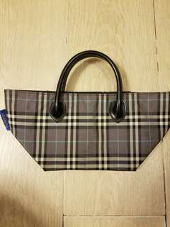 Burberry 日本blue label (手挽小袋)