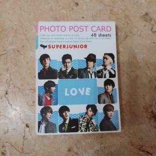 SUPER JUNIOR PHOTO POST CARD 48SHEETS