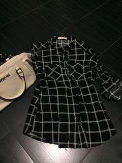 Formal ware 3/4 blouse long sleeve crissa blouse bayo not mk lv coach