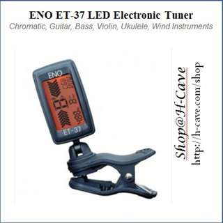 ENO ET-37 , Clip-On LED Tuner for Strings Musical Instruments.
