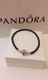 Pandora Bracelet 手鏈 皮繩 送禮自用