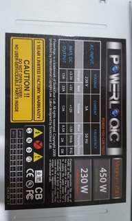Atx power supply 450watt