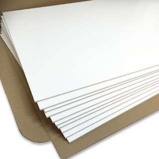 5mm foamboard (paper-foam-paper) A1,A0 sizes