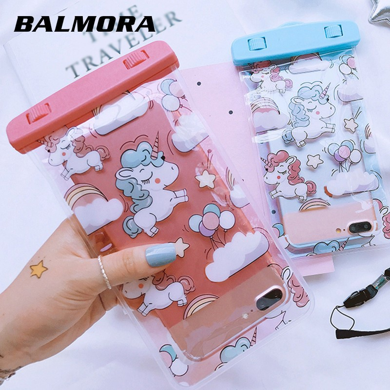 best loved 5931f 5dca0 (282) BALMORA Unicorn Clear Waterproof Phone Bag