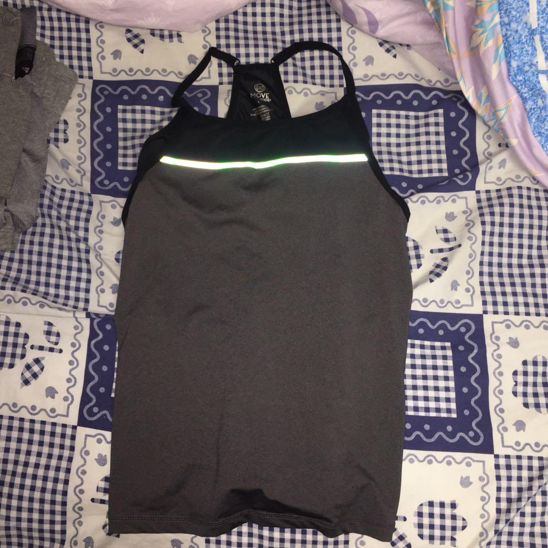 2 in 1 workout tank