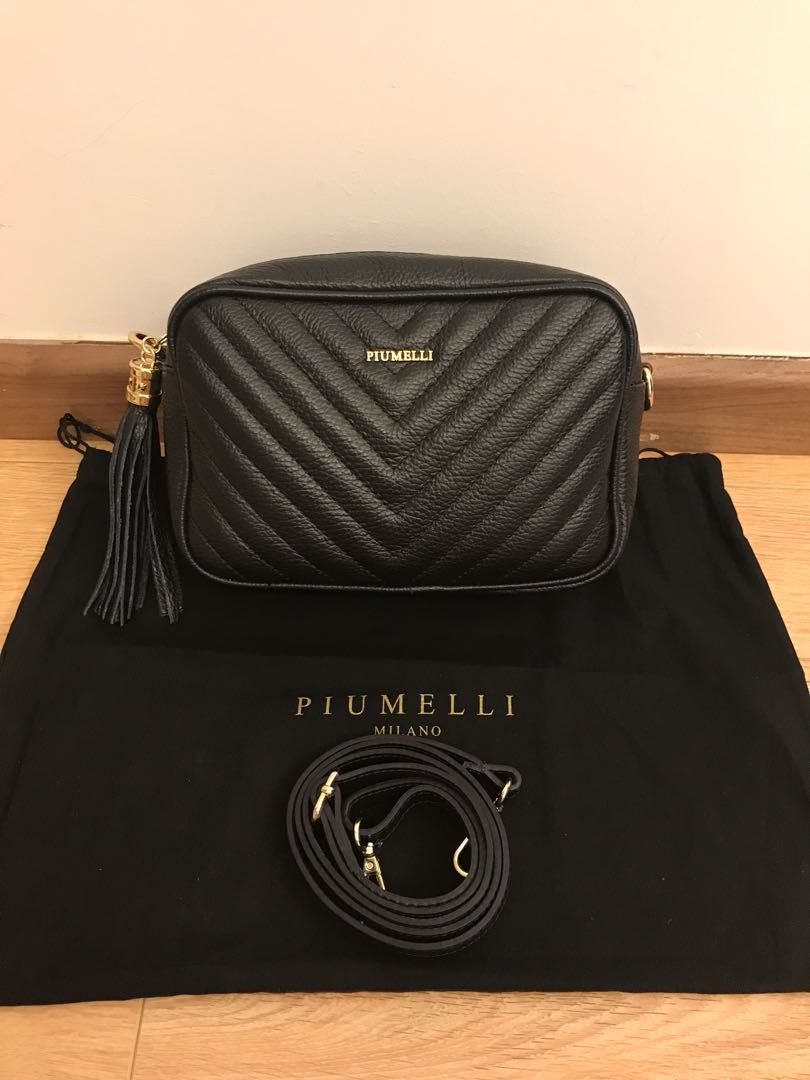 f188664b24092b 💯 authentic piumelli sling bag for let go!!, Luxury, Bags & Wallets on  Carousell