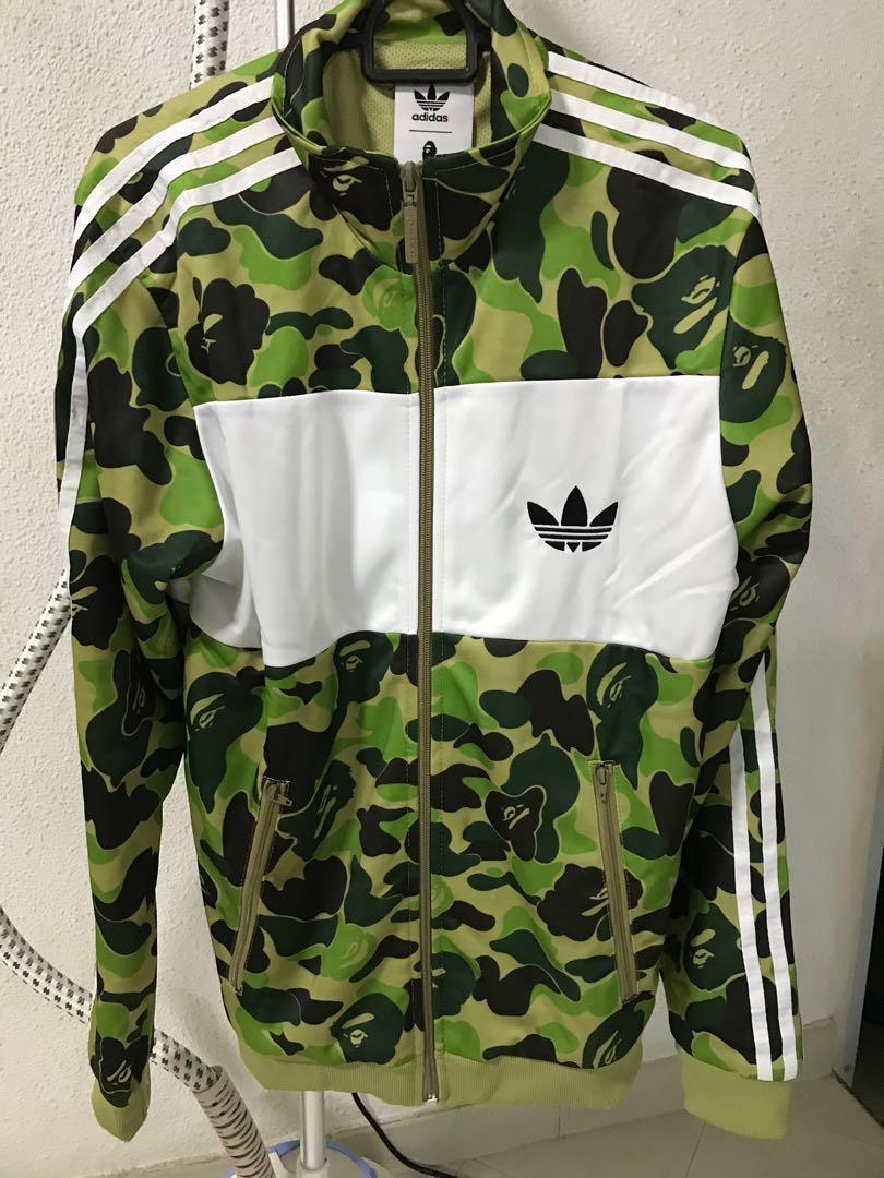 219a09ef57c7 Adidas Bape firebird track jacket