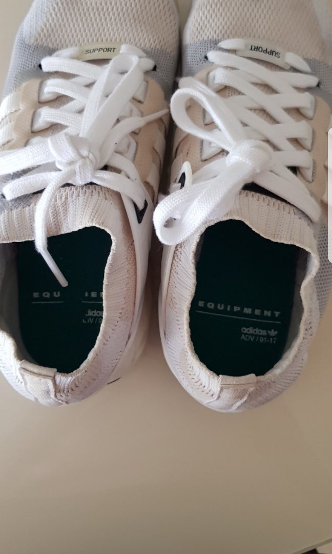 Adidas originali eqt sostegno a pk vintage white, moda maschile