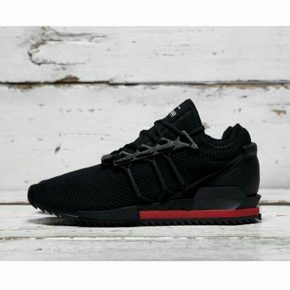 4129ad708 Adidas Y-3 Harigane Black Red