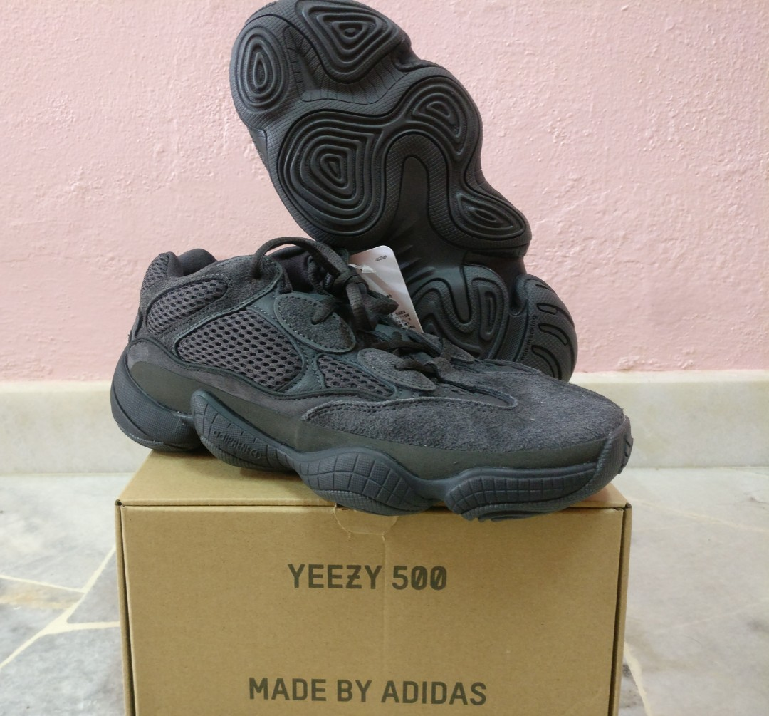separation shoes b2b17 fb419 Adidas Yeezy 500 Utility Black