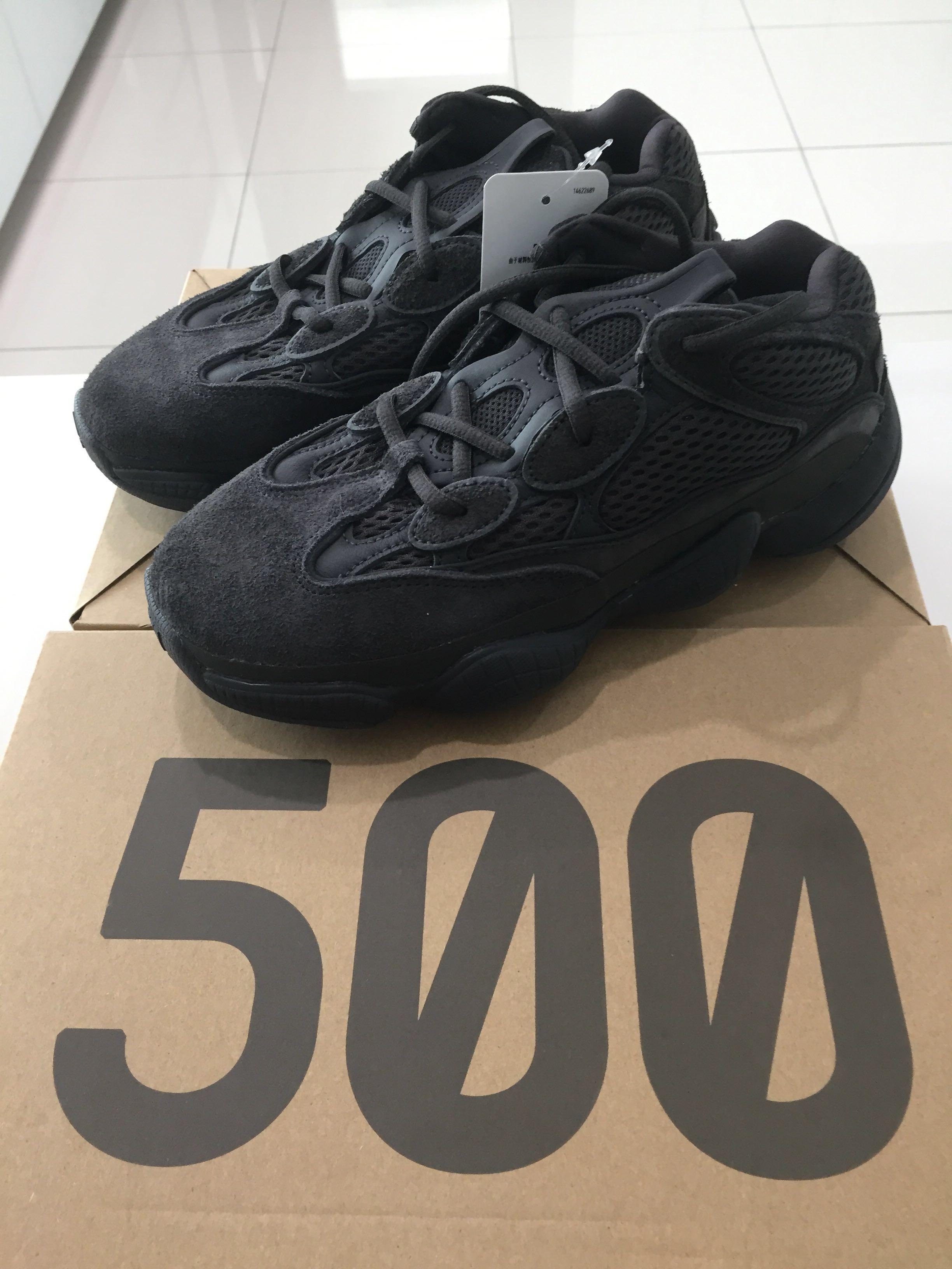 bd866a075 Adidas Yeezy 500 Utility Black F36640