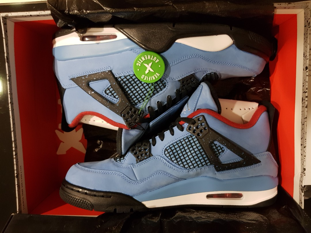 newest 8c8ad 1a370 Air Jordan 4 Retro, Cactus Jack. No Trade. Final Price., Men s ...