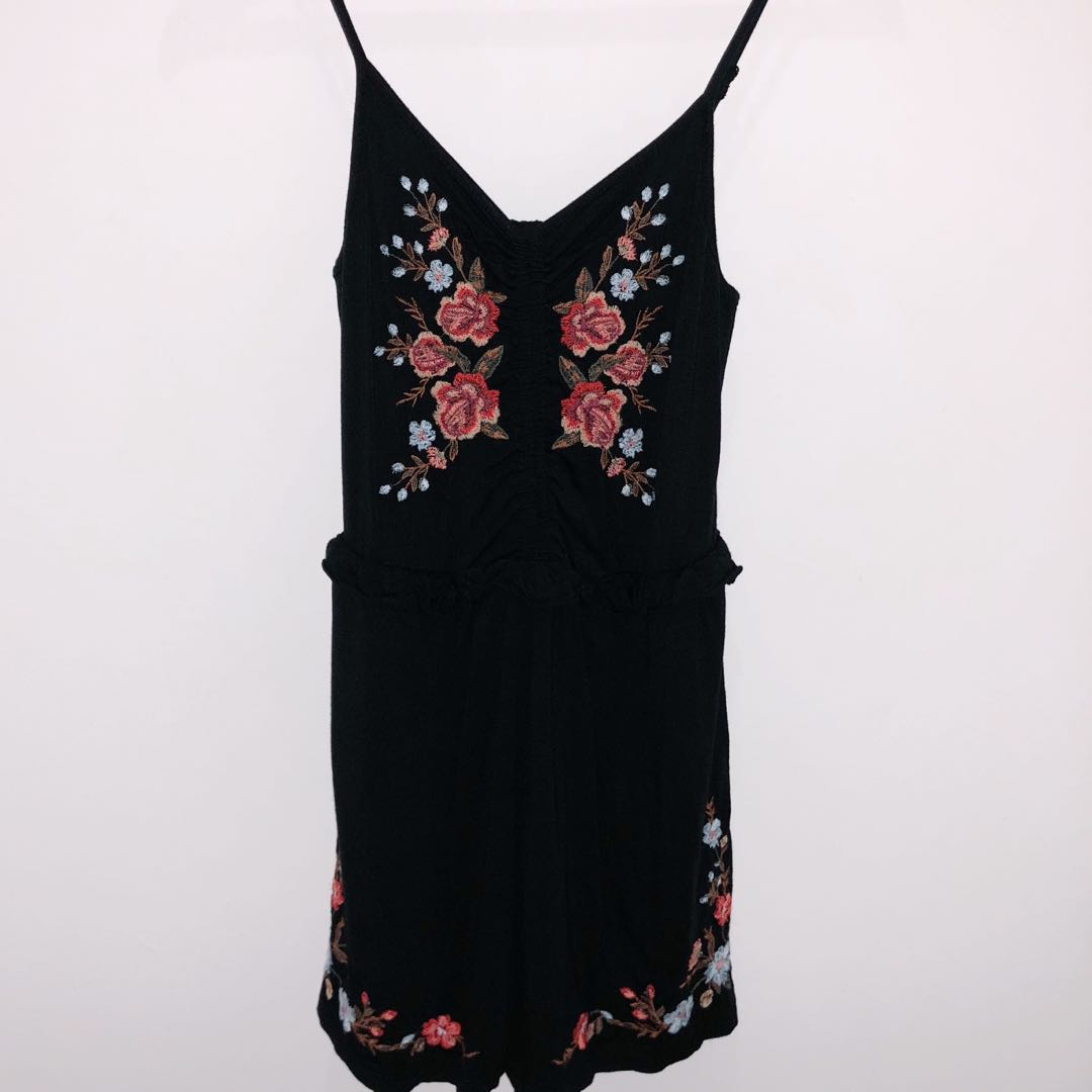1d5bf2133e76 american eagle outfitters floral romper