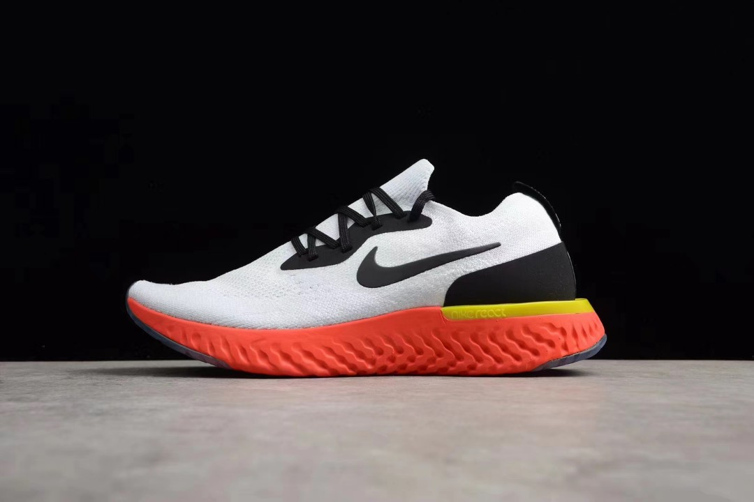 "49215c20328e Authentic 36-45 Nike Epic React Flyknit ""TrueWhite"" AQ0067-103 ..."
