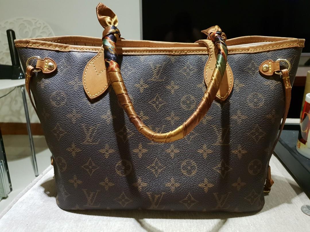 Authentic Louis Vuitton Neverfull PM Monogram 8b5c658894845