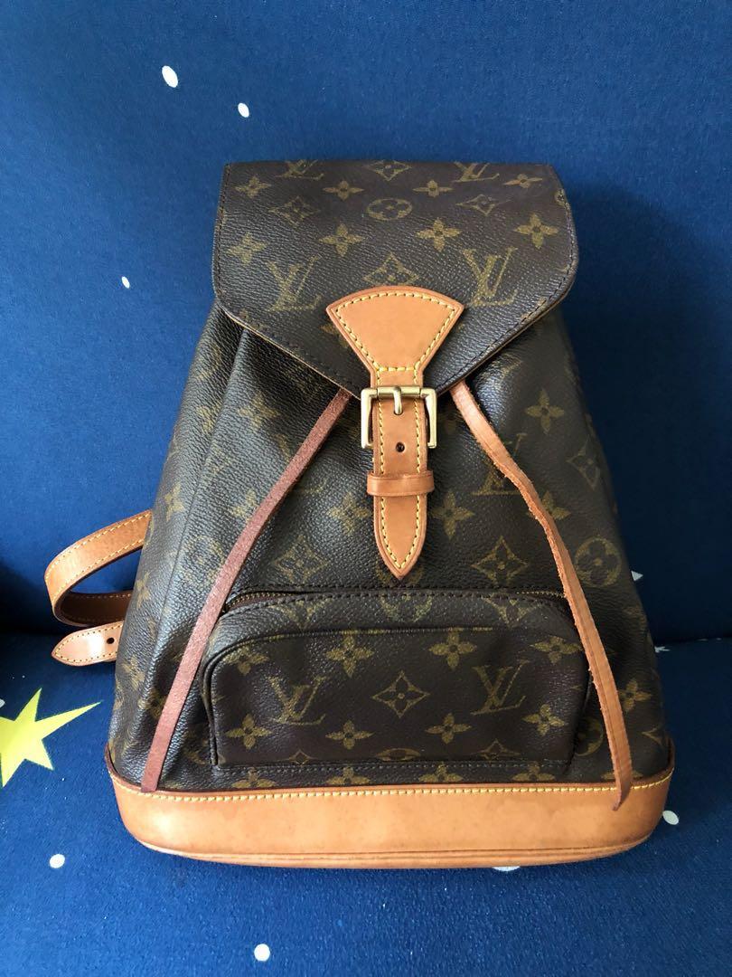 c1c939867c50 Authentic Louis Vuitton Vintage Monogram Monstouris backpack